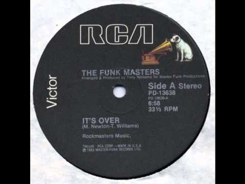 It's Over - The Funk Masters w/Emmett North Jr on Guitar(Original 12'' Version)