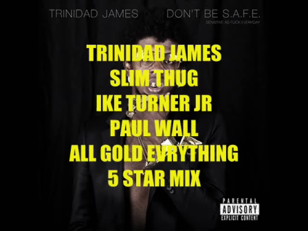 TRINIDAD JAMES(ALL GOLD EVERYTHING)REMIX-SLIM THUG- IKE TURNER JR- PAUL WALL