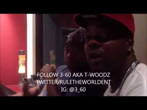 CASSIDY X 3-60 AKA T-WOODZ IN STUDIO FOOTAGE ALBUM: THE GREATEST STORY TOLD! #GST