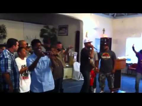 Flashback August 2013:  Hip Hop Church LA Freestyle Cypher