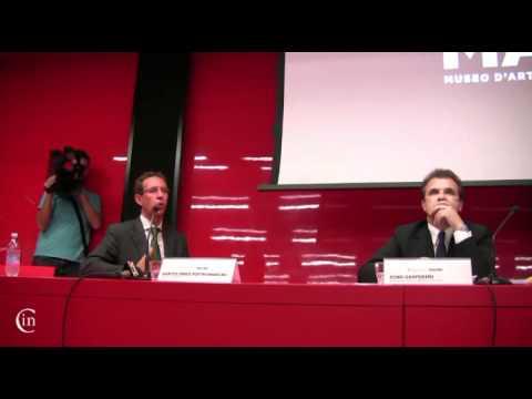 MACRO - Conferenza stampa del nuovo Direttore Bartolomeo Pietromarchi