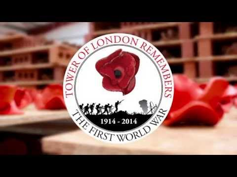 Making the poppies - The Tower of London Remembers