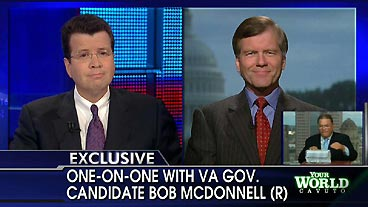 Bob McDonnell On Neil Cavuto