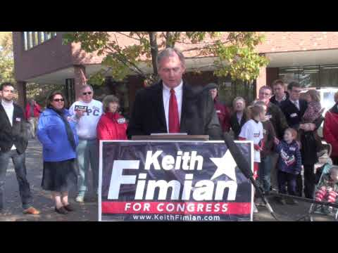 Keith Fimain talks against Pelosi/Connolly HealthCare Bill