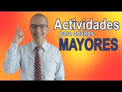 Actividades recreativas para adultos mayores - Actividad 11, 12 y 13