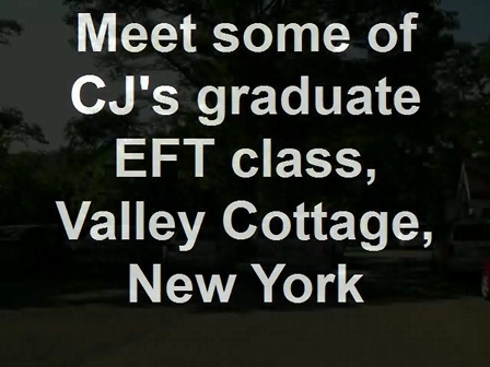 Meet some of CJ's graduate EFT class, Valley Cottage, New York