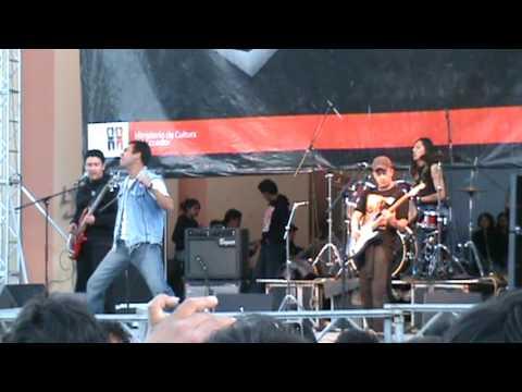 Semana del rock Riobamba 2009 - en tu ausencia - Corvus