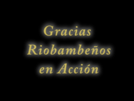 GRACIAS RIOBAMBEÑOS  EN ACCION