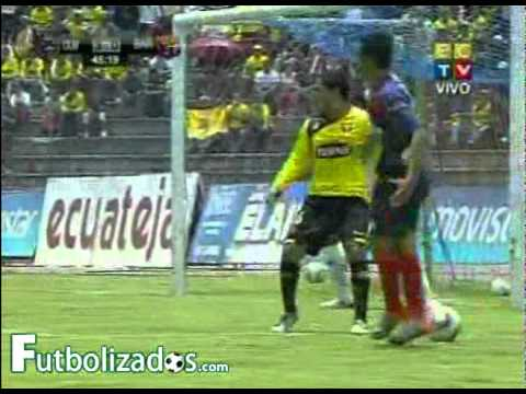 Olmedo 4 - Barcelona 0. Campeonato Ecuatoriano 2011.