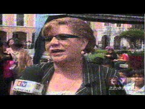"""Reportaje de Tvs de  nuestra """"Casa Abierta Eco Mundo 2011"""""""