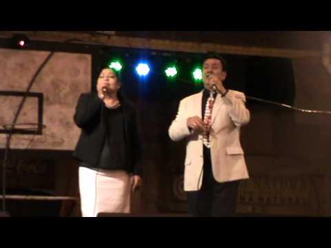 Dúo Cantares del Alma en las fiestas de Santa Rosa/Riobamba