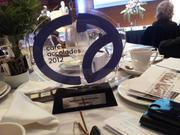 Award on the table