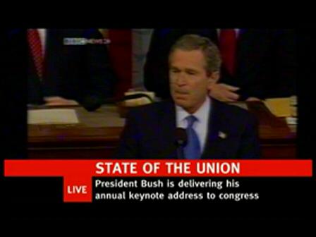 Bush's Hidden State of the Union Address
