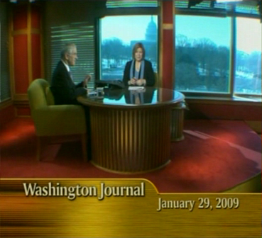 Ron Paul - American Journal 1-29-09 PART 1