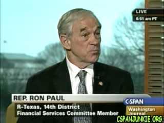 Ron Paul takes C-SPAN Phone Caller Questions - 30:44 - Jan 29, 2009