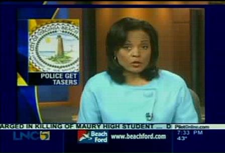 Virginia Beach Police Tasers