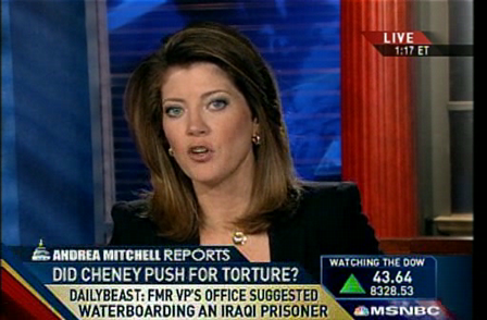 msnbc - Cheney's office ordered waterboarding 5-14-09