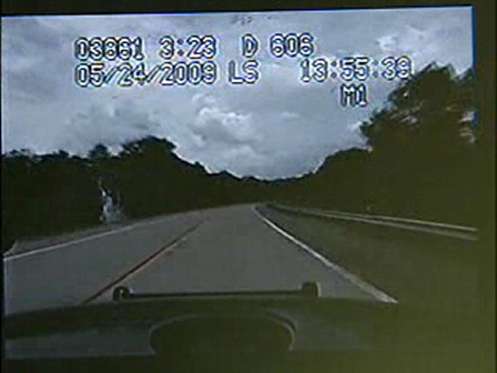 Oklahoma Highway Patrol release dashcam footage of trooper pulling over ambulance