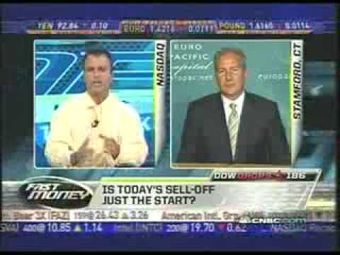 """Peter Schiff rips the """"fast money"""" shills open"""