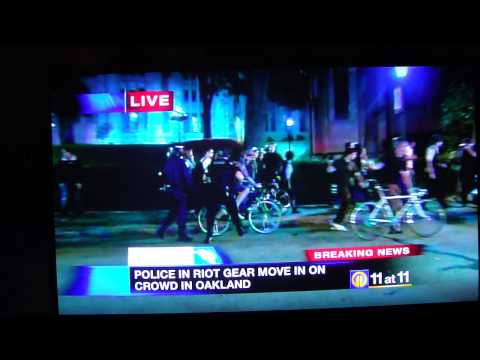 Police Brutality in Pittsburgh, Girl gets knocked to the ground for reacting to being pushed off her bike. It's time to end the police state