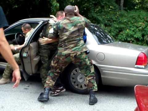National Guard Uses Unmarked Car to Snatch Protester at G-20 Pittsburgh
