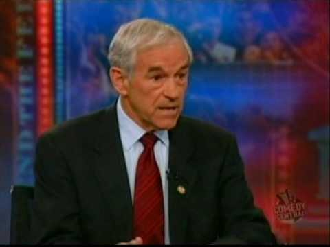 "Ron Paul on the Daily Show -  ""END THE FED"" Book Tour"