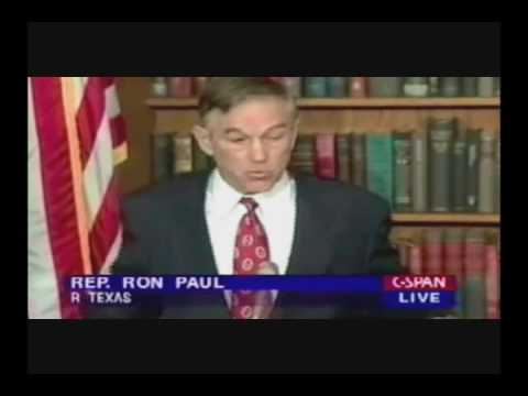 Ron Paul predicts 9/11 in 1998 - RP2012