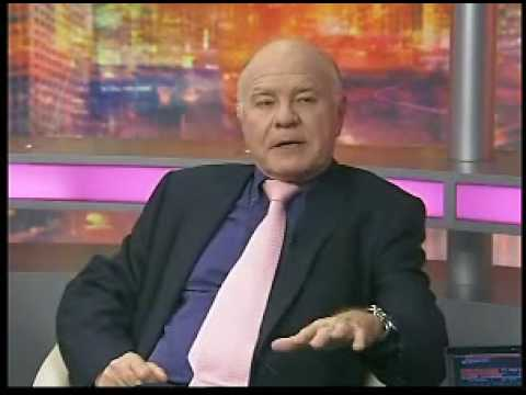 1/3 Marc Faber Dollar decline and inflation Oct 14, 2009