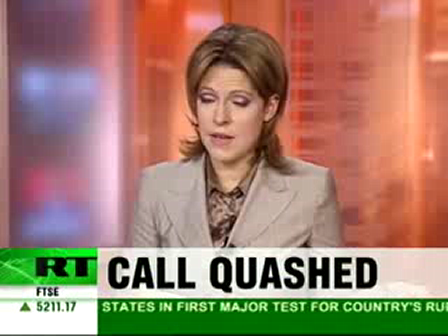 Russia Today: New 9/11 inquiry squashed  - Charlie Sheen.