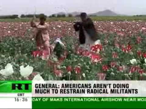 The Afghan drug trade brings the US 50 billion dollars a year