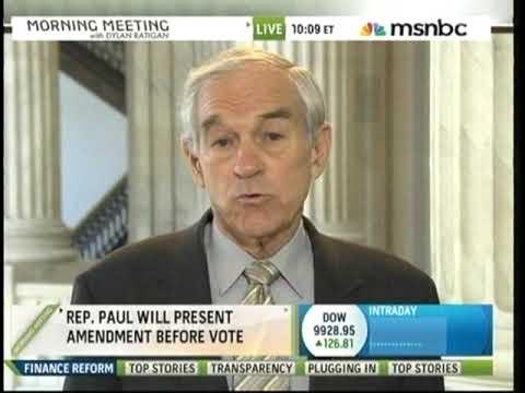 Ron Paul on MSNBC's Morning Meeting