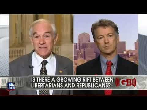 Ron and Rand Paul with Judge Napolitano-On The Glenn Beck Show