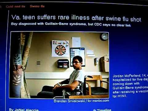 NEW VICTIM: Virginia teen suffers rare illness after swine flu shot