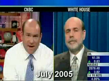 """Bernanke 2005-2007 a video compilation - """"I Have Confidence in Bank Regulators and There's No Bubble in Housing"""""""