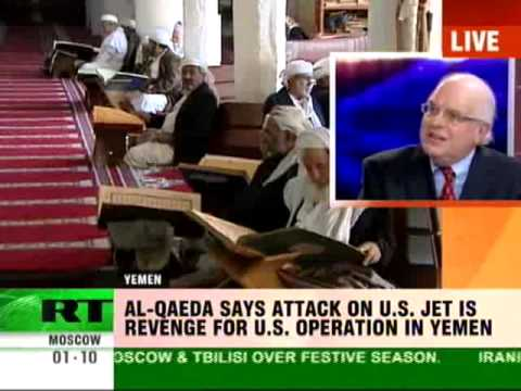 Al-Qaeda: US plane bomb plot revenge for Yemen operations? or... Al-CIAda False Flag Attack? - Webster Tarpley on RT