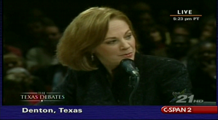 Texas Debates - Debra Medina on Constitutional Right to Bear Arms