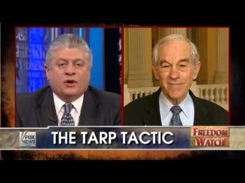 Ron Paul on Freedom Watch w/ Judge Napolitano - TARP Tactic - 2/3/10