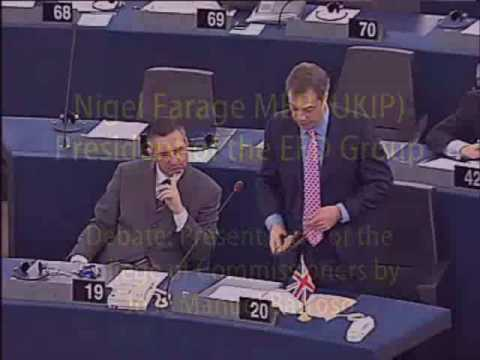 UKIP MEP Nigel Farage Exposes New Communist Government of Europe and Greece
