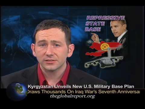 Kyrgyzstan Unveils New U.S. Military Base Plan