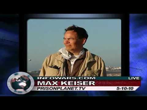 Max Keiser on Alex Jones show 5/10/10