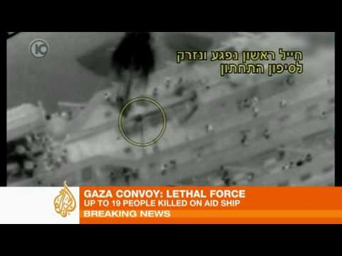 Up to 19 KILLED! Storming of Gaza aid convoy - Israeli Official Propaganda