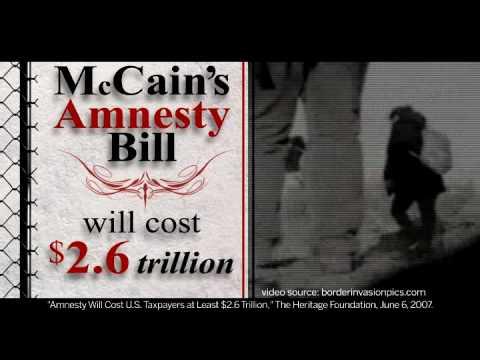 """McCain's Amnesty"" Ad Hits Airwaves"