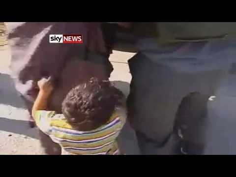 Little Boy Begs Israeli Soldiers Not To Take His Daddy After Stealing Him Fresh Water