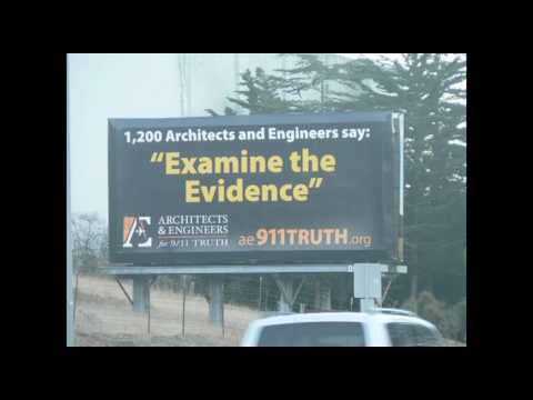 911 Truth Billboard in San Luis Obispo, California