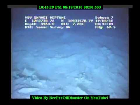 Huge Eruption On The Sea Floor In The Gulf Of Mexico!