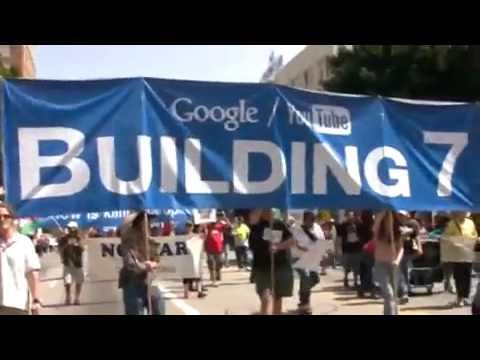 9-11 inside job false flag attack Los Angeles Anti-War March