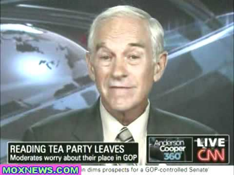 Ron Paul on CNN's Anderson Cooper: This is a Revolution!