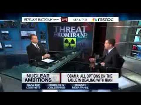 Glenn Greenwald and Dylan Ratigan Destroy Neocon Warmongering for Attack on Iran