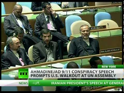 RT: Ahmadinejad 9/11 jibe sparks US walkout at UN assembly