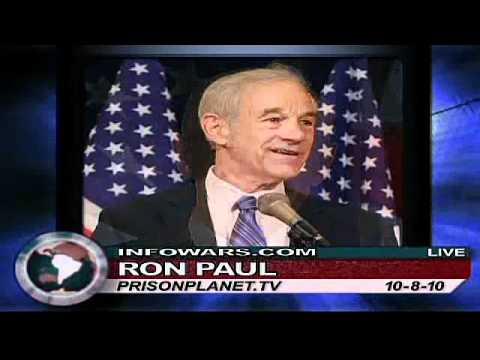 "Ron Paul: ""Fear is The Tool of The Thugs in Government"" - Alex Jones Tv"